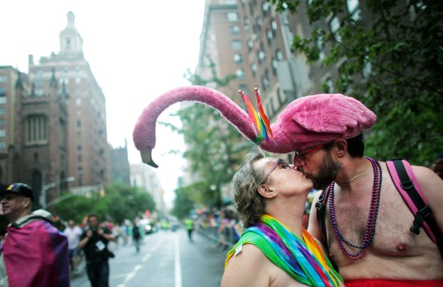 Gay Pride Parade on June 28, 2015 in New York City.