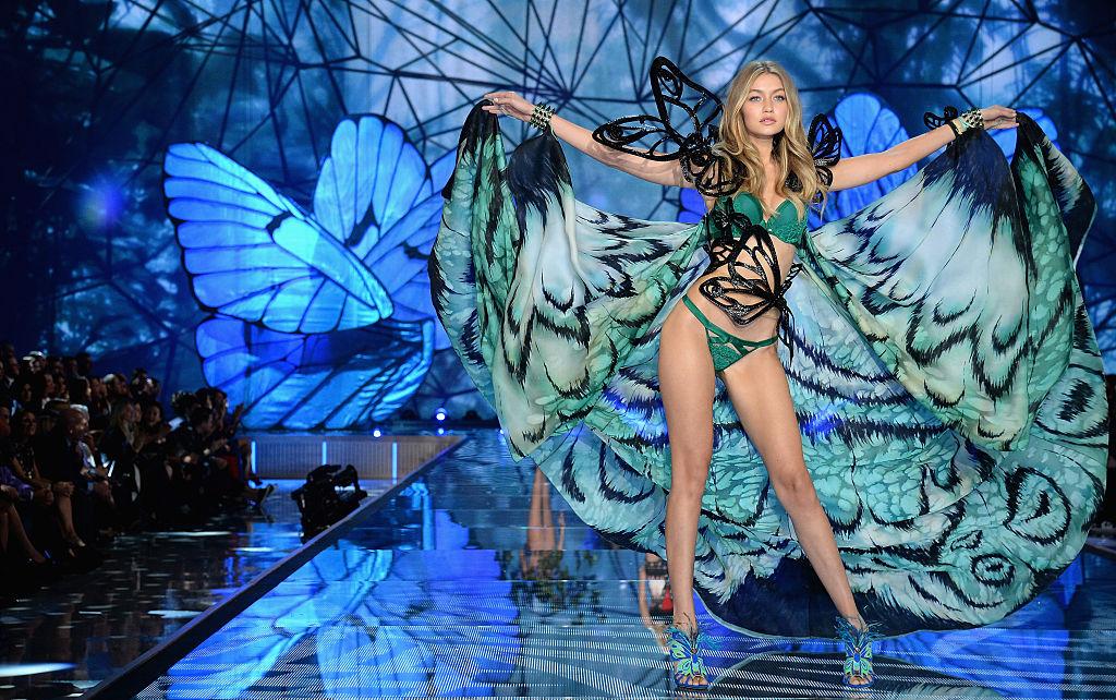 A Victoria's Secret Angel, how original!