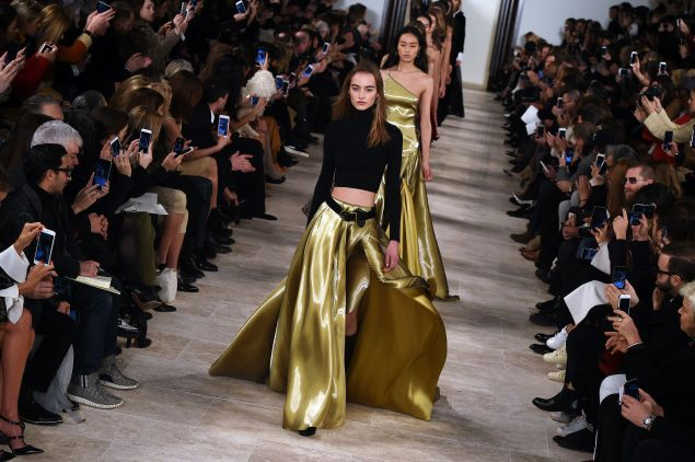 Ralph Lauren's golden Fall/Winter 2016 offering
