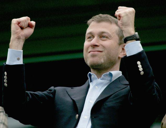 Time to celebrate, Roman Abramovich!
