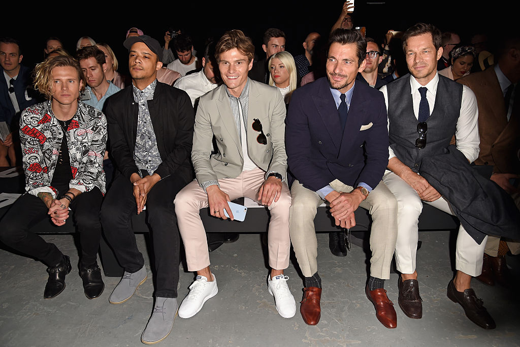 Dougie Poynter, Raleigh Ritchie, Oliver Cheshire, David Gandy and Paul Sculfor.