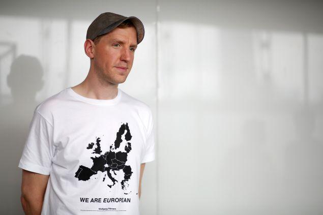 Designer Christopher Raeburn shares his opinion on a t-shirt