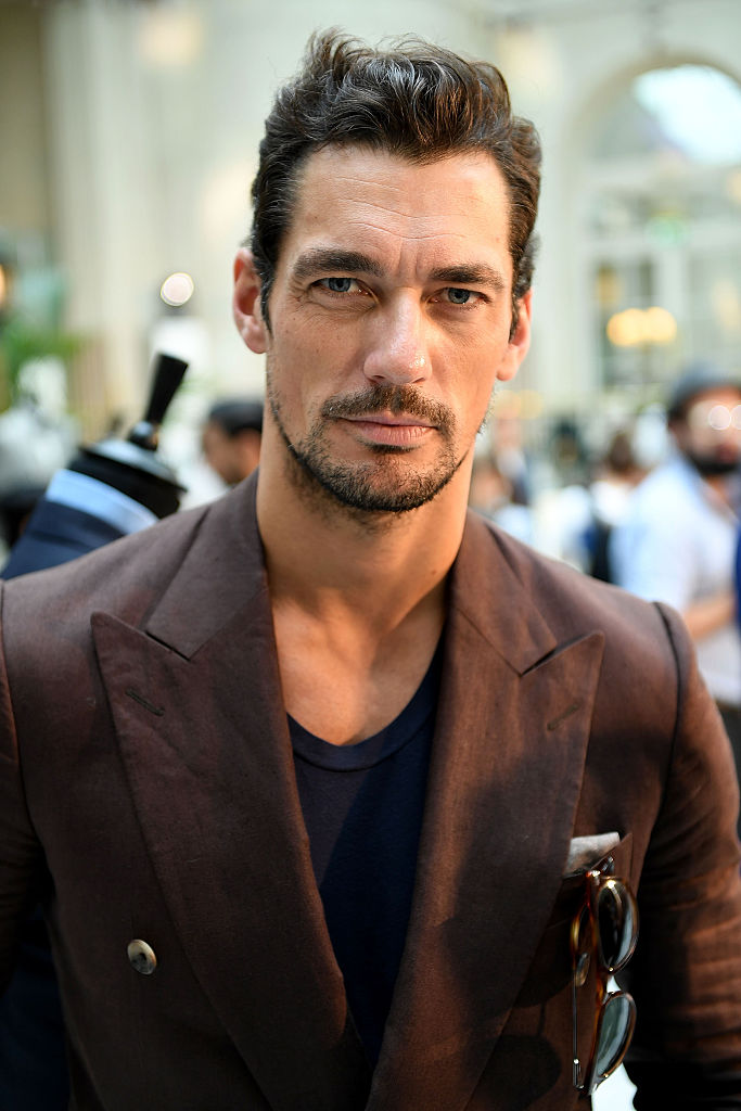 LONDON, ENGLAND - JUNE 12: David Gandy attends the Chester Barrie presentation during The London Collections Men SS17 at on June 12, 2016 in London, England. (Photo by Ian Gavan/Getty Images)