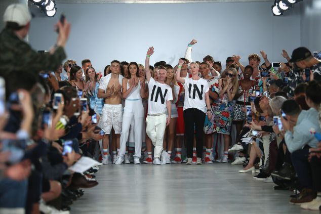 """Sid Bryan and Cozette McCreery of Sibling make a statement with their """"In"""" t-shirts"""