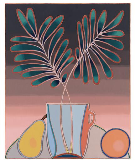 Holly Coulis, Fonds and Fruits, 2016.