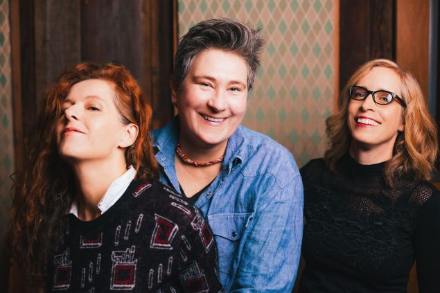 Neko Case, k.d. lang and Laura Veirs are case/lang/veirs.