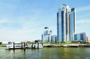 Development that resulted from rezoning completely changed Williamsburg's waterfront.
