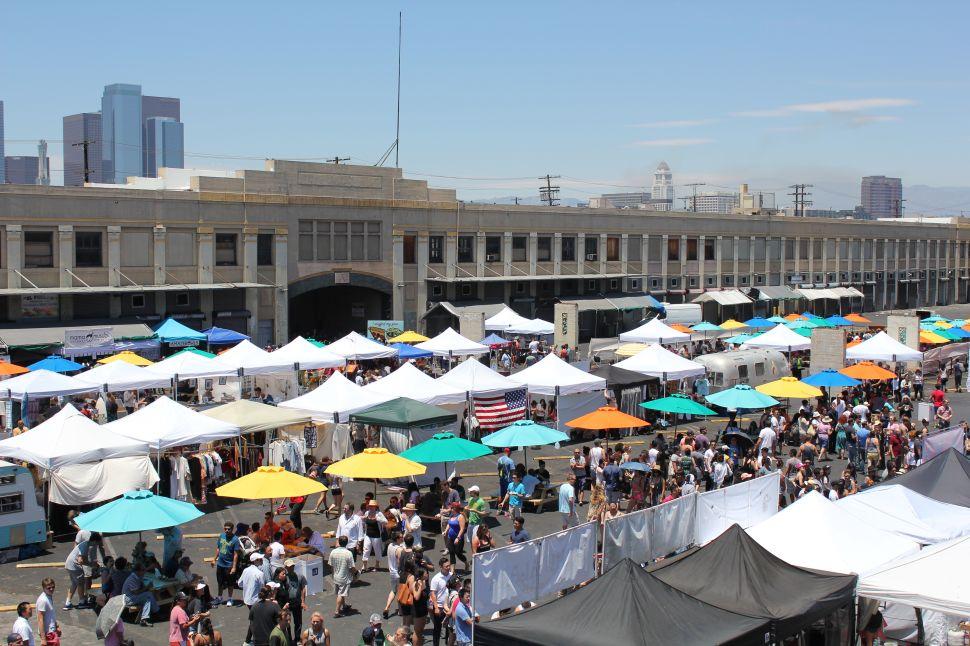 Smorgasburg LA Opening Day.