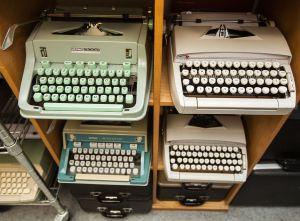 Typewriters at Gramercy Typewriter CO.
