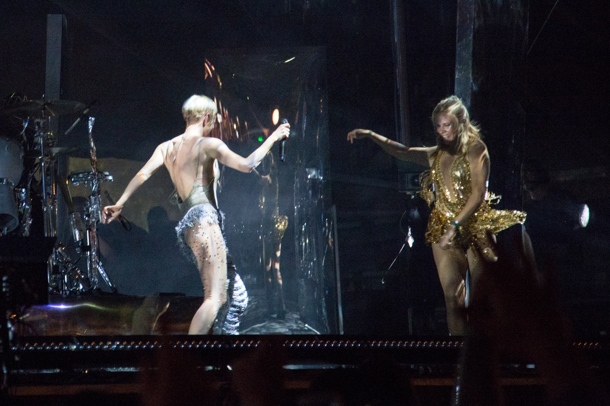 Robyn's remixed set at Gov Ball