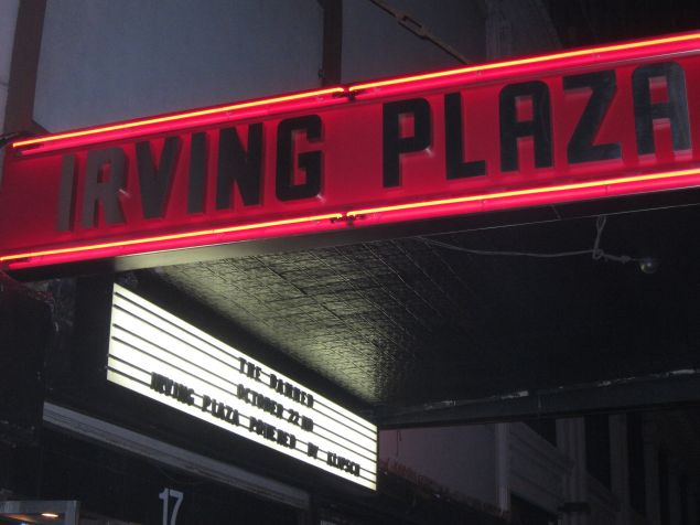 Irving Plaza isn't hosting rap any time soon