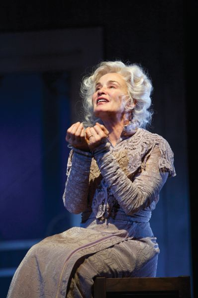 Jessica Lange as Mary Tyrone in Long Day's Journey Into the Night.