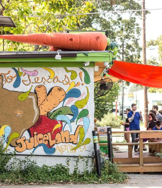 At Juiceland we listen to radio mixes by many of Austin's finest music makers.