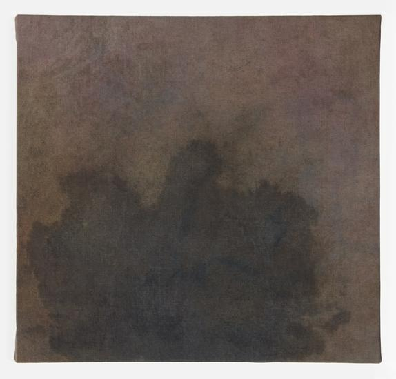 Byron Kim, Stain, Methylene Blue, 2016.