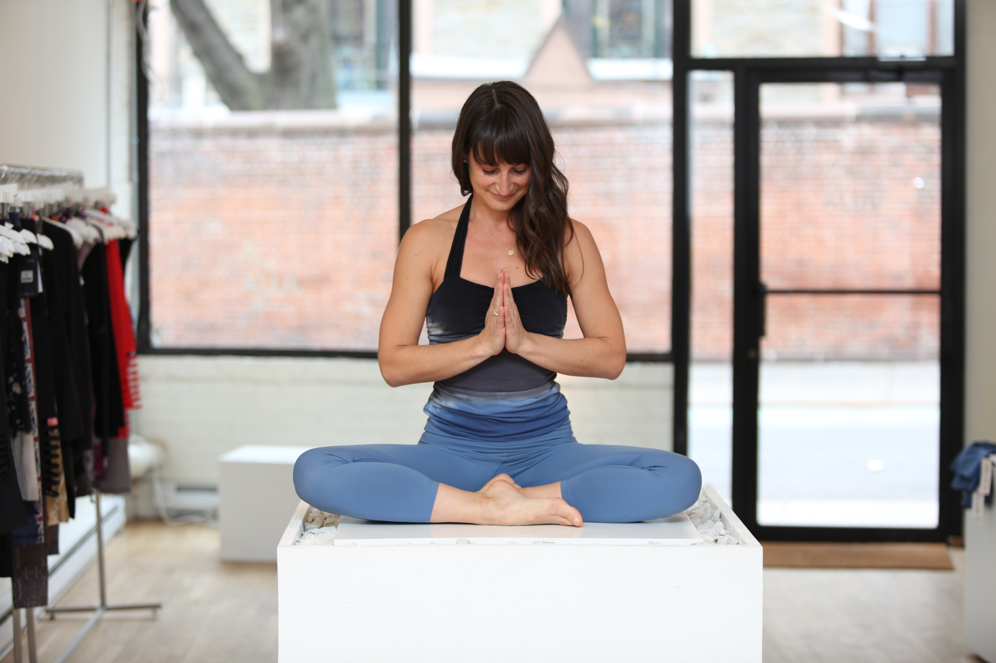 Yoga instructor and life coach Lauren Taus.