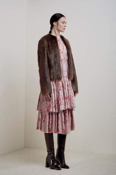 A fur option from Brock Collection