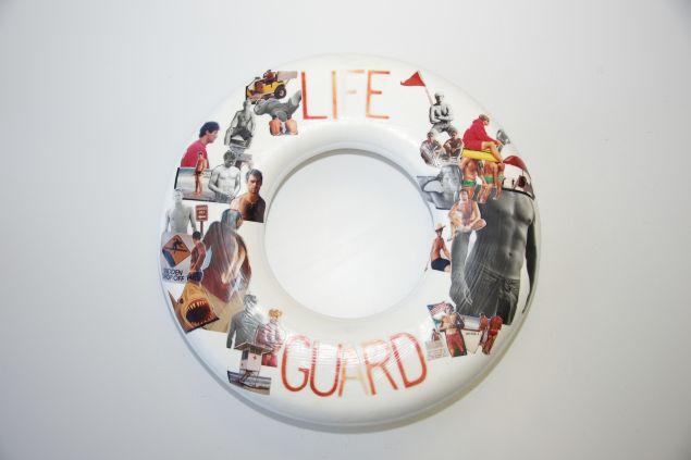Matt Albiani's piece, inspired by 'Lifeguard on Duty'