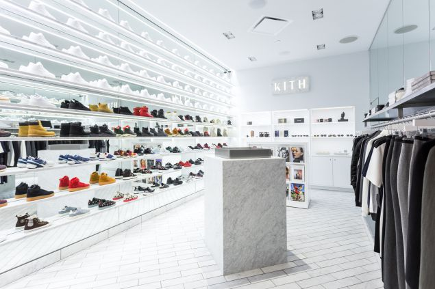 Inside the new Kith women's store