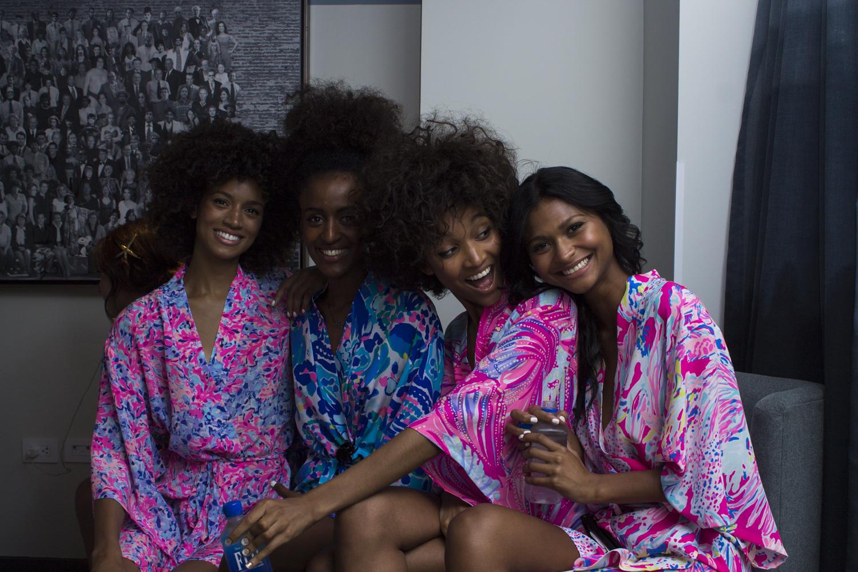 Lilly Pulitzer x Stila Show Stila cosmetics PHOTO Jemma Dilag for Observer
