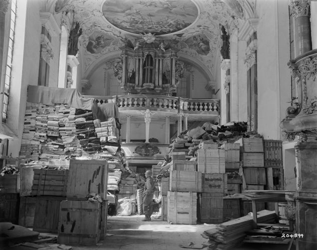 A trove of objects looted by the Nazis.