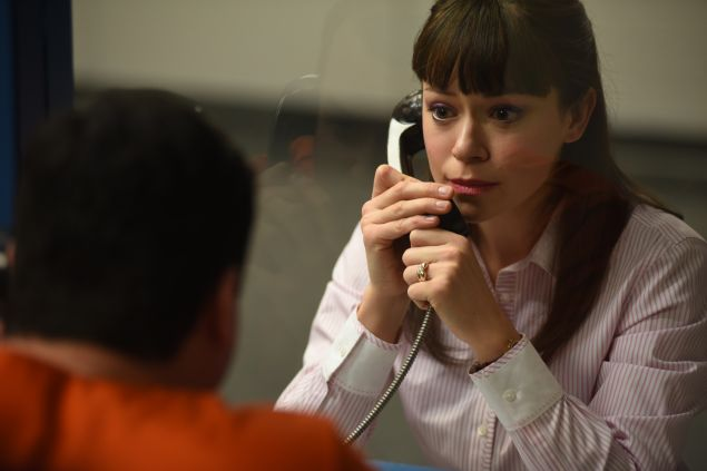 Kristian Bruun as Donnie and Tatiana Maslany as Alison.