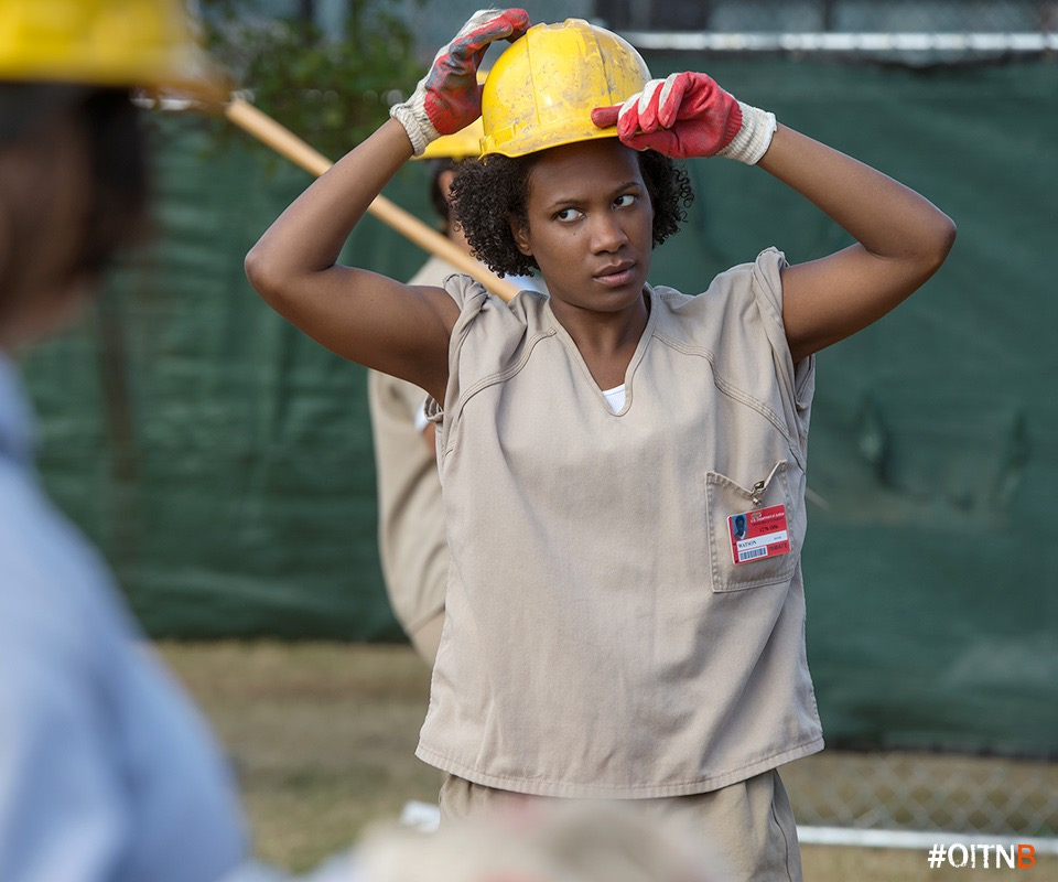 Vicky Jeudy on Orange is the New Black.