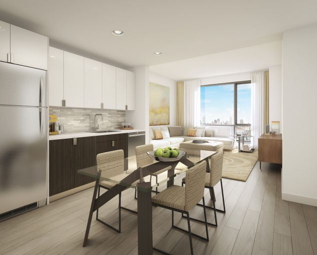 The Dutch, in Long Island City, where a two-bedroom priced at 965K went into contract immediately.