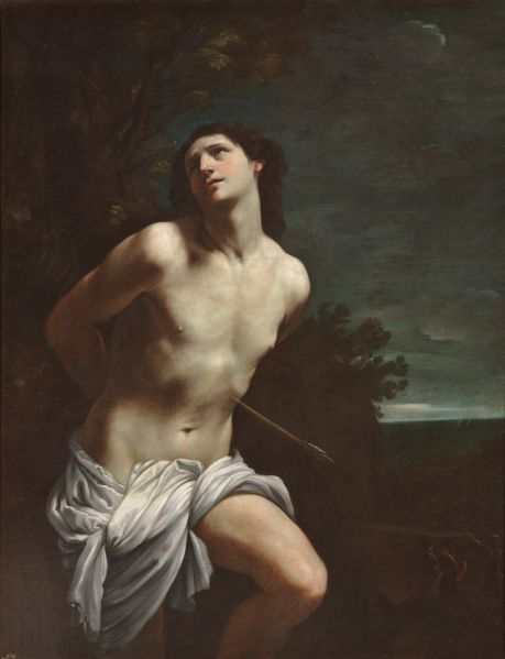 Guido Reni, Saint Sebastian, (ca. 1617–19).