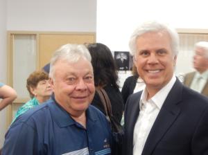 Senator James Beeach with George Norcross, right