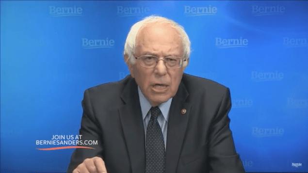Sen. Bernie Sanders speaking tonight.