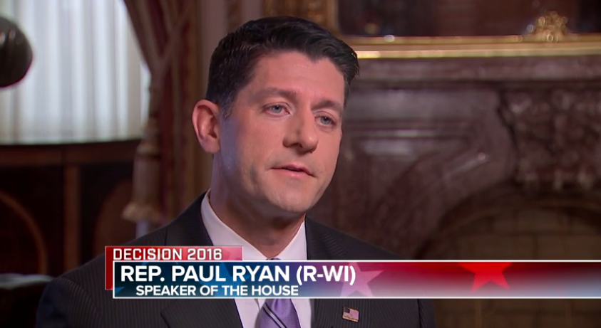 Paul Ryan on 'Meet the Press.'