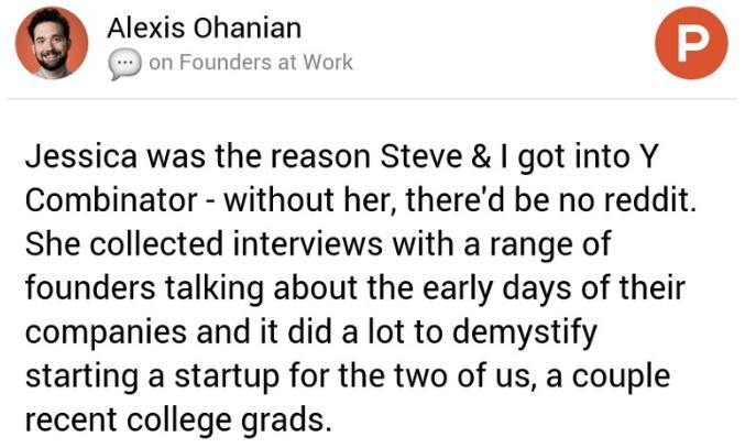 Alex Ohanian on Product Hunt