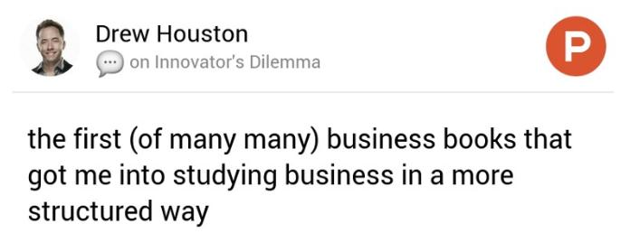 Drew Houston on Product Hunt