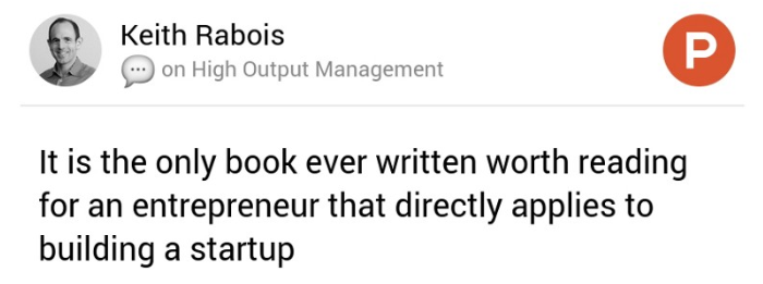 Keith Rabois on Product Hunt