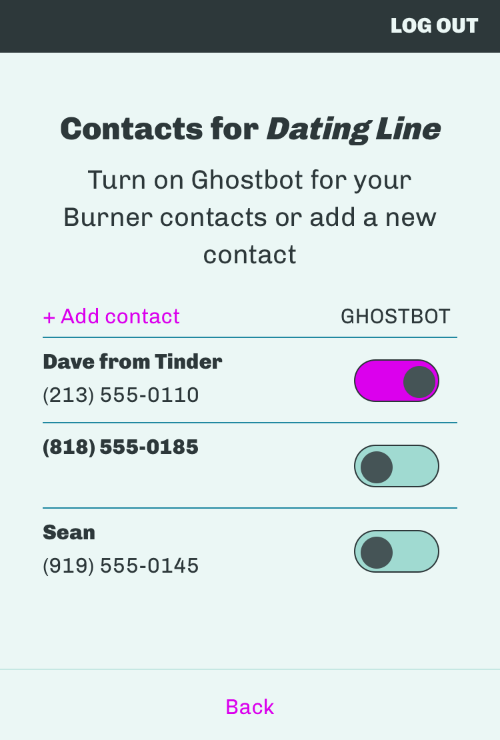 Now simply add everyone you've ever dated...