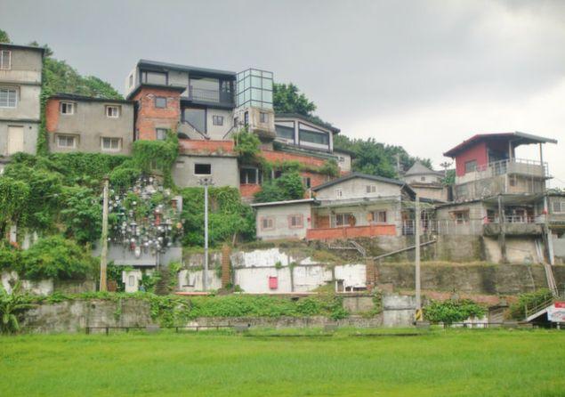The Treasure Hill artist village in Taipei.