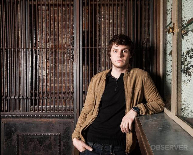 Evan Peters will be joining the cast of American Horror Story's sixth season this fall.