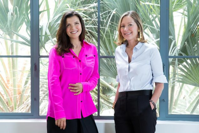 NUDE founder Ali Hewson (L) and Beautycounter founder Gregg Renfrew (R) join forces in the name of natural beauty