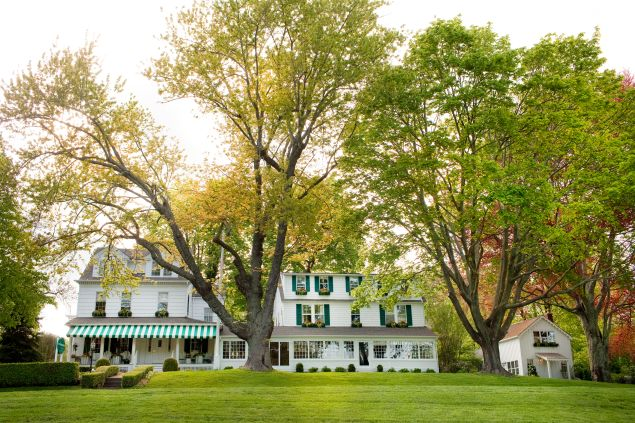 The Gathering Spot: With just 19 themed guest accommodations, weddings at the funkily named c/o The Maidstone feels like artsy house parties. Keep the guest list to a few dozen (they specialize in intimate gatherings) and marry in the magazine-worthy garden.