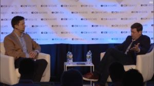 Nathaniel Popper of The New York Times interviews Union Square Ventures' Fred Wilson, from CBInsight's livestream.