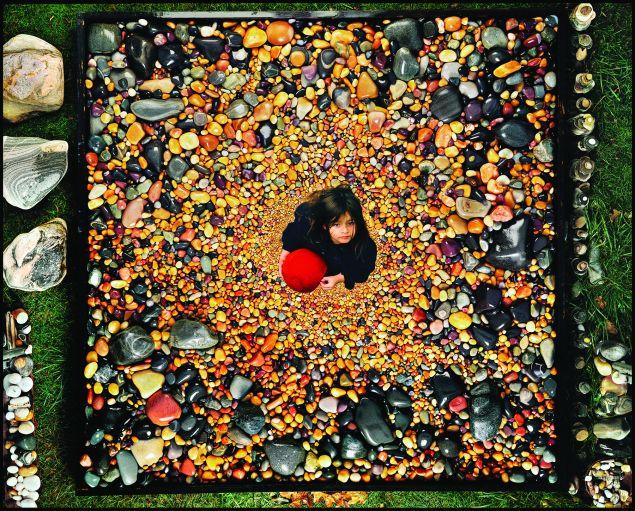Peter Beard, Zara and the Universe, 1993.