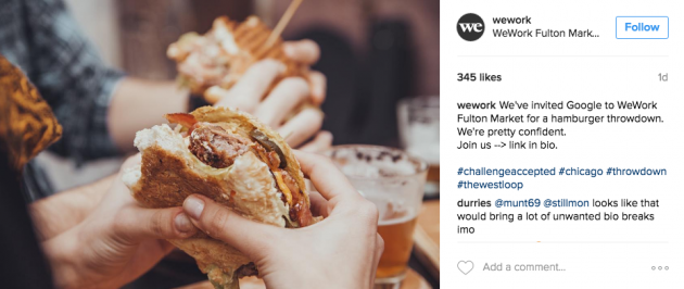 Get creative with hashtagging.