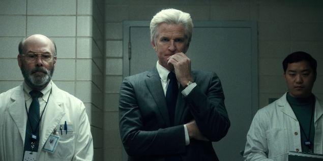 Matthew Modine as Dr. Brenner in Stranger Things.