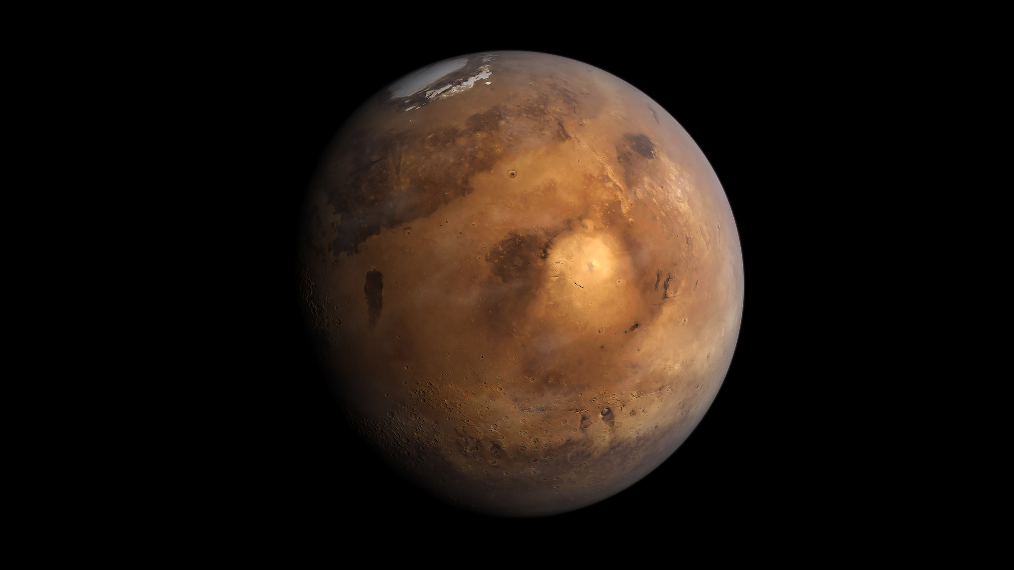 Boom! You're now on Mars. Or are you?