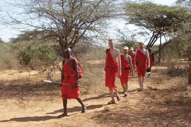 Maasai Warrior Training Camp in Kenya