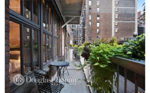 Fire egress, urban garden, or fire escape?