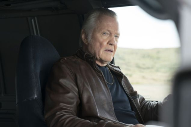 Jon Voight as Mickey on Ray Donovan. Not featured: jars of piss.
