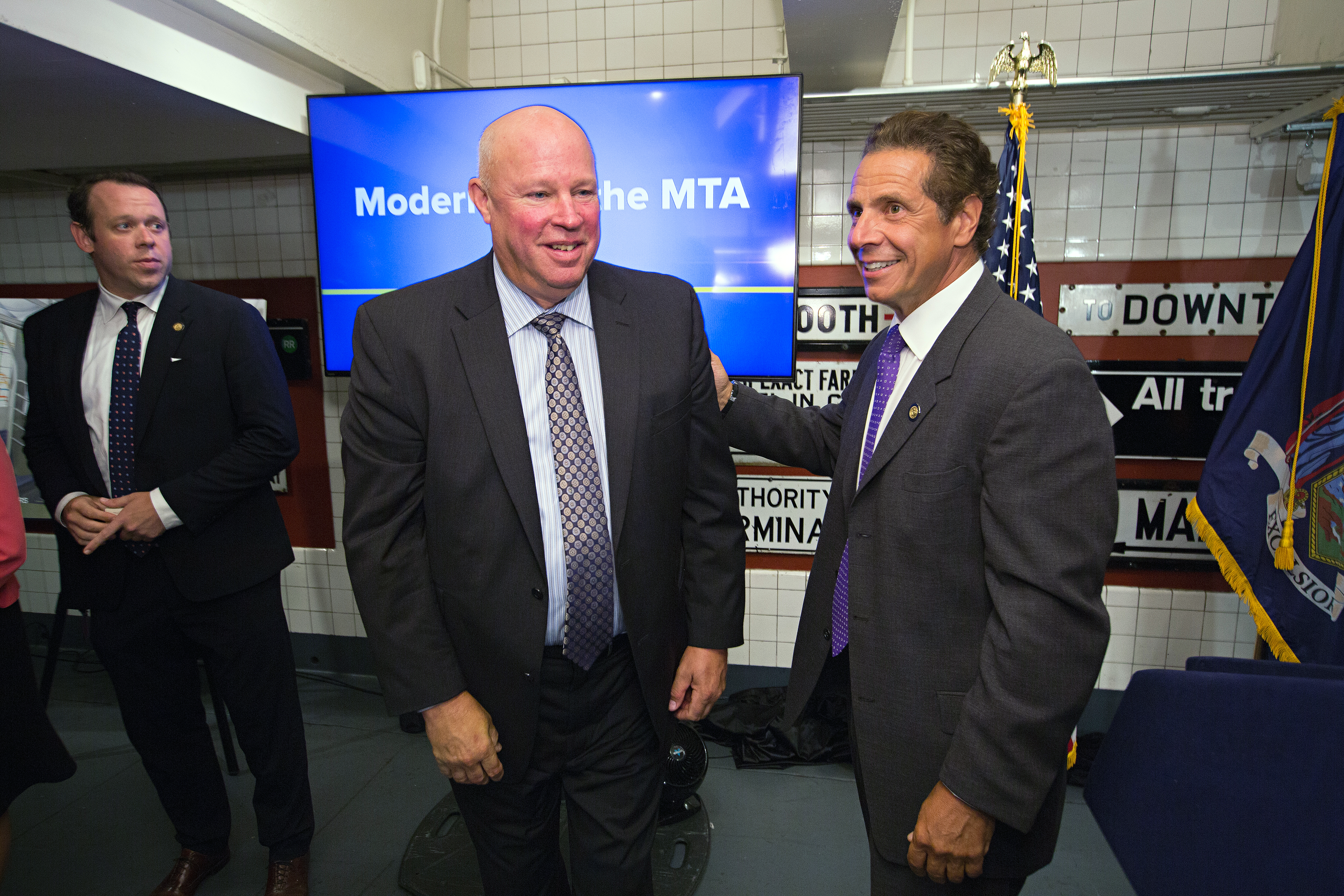Gov. Andrew M. Cuomo today unveiled the design features of 1,025 new and reimagined subway cars.