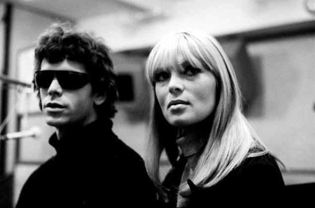 Lou Reed and Nico.