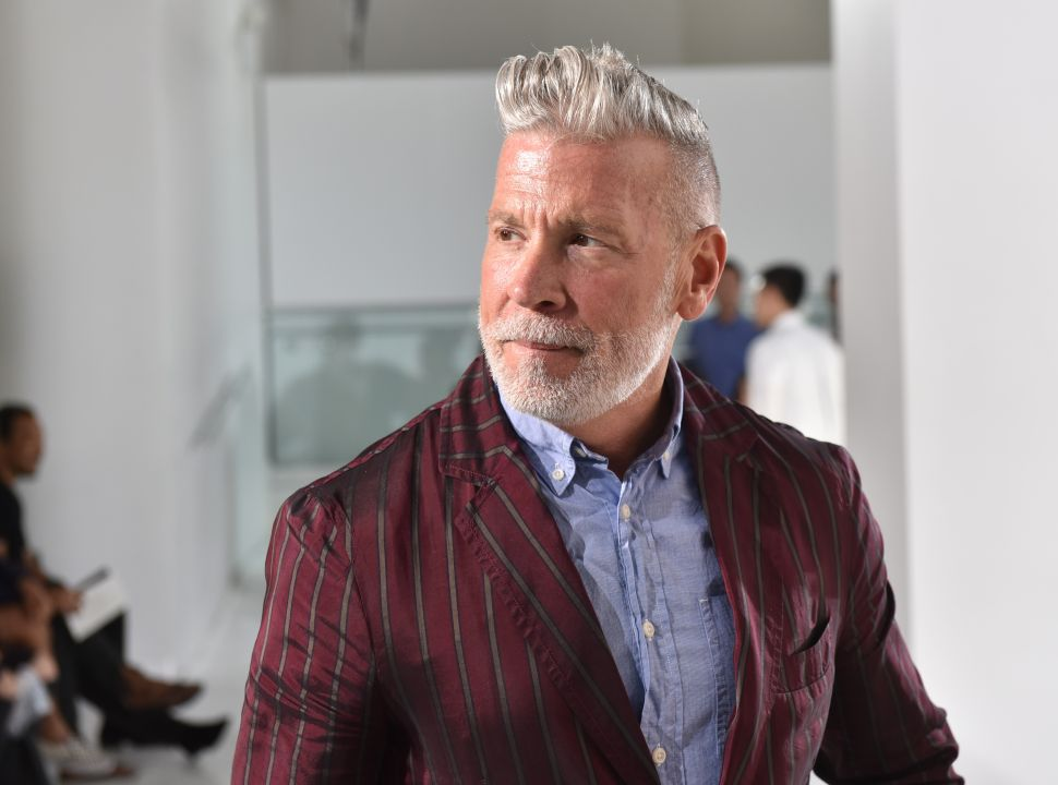 Nick Wooster attends the N. Hoolywood Runway Show